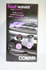 Conair CHV14X Heat Waves Electric Heated Hot Large Jumbo Curling Rollers