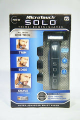 MicroTouch Micro Touch SOLO Rechargeable Trims Edges Razor Shaver (Like New)