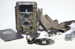 PAPAKE Trail Game Camera 12MP 1080P HD Hunting Camera 120° Wide Angle for Surveillance Scouting SCNEW-08672 (Like New)