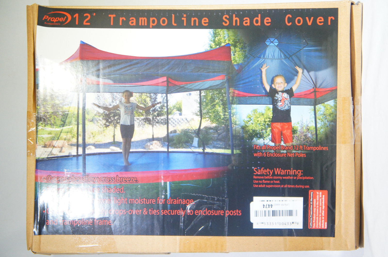 Propel P12-SC Trampolines Propel Shade Cover 12'' Multicolor (Like New)