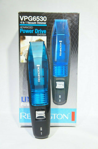 Remington VPG6530 Vacuum Trimmer 4 In 1 Clipper Beard Nose Comb Kit