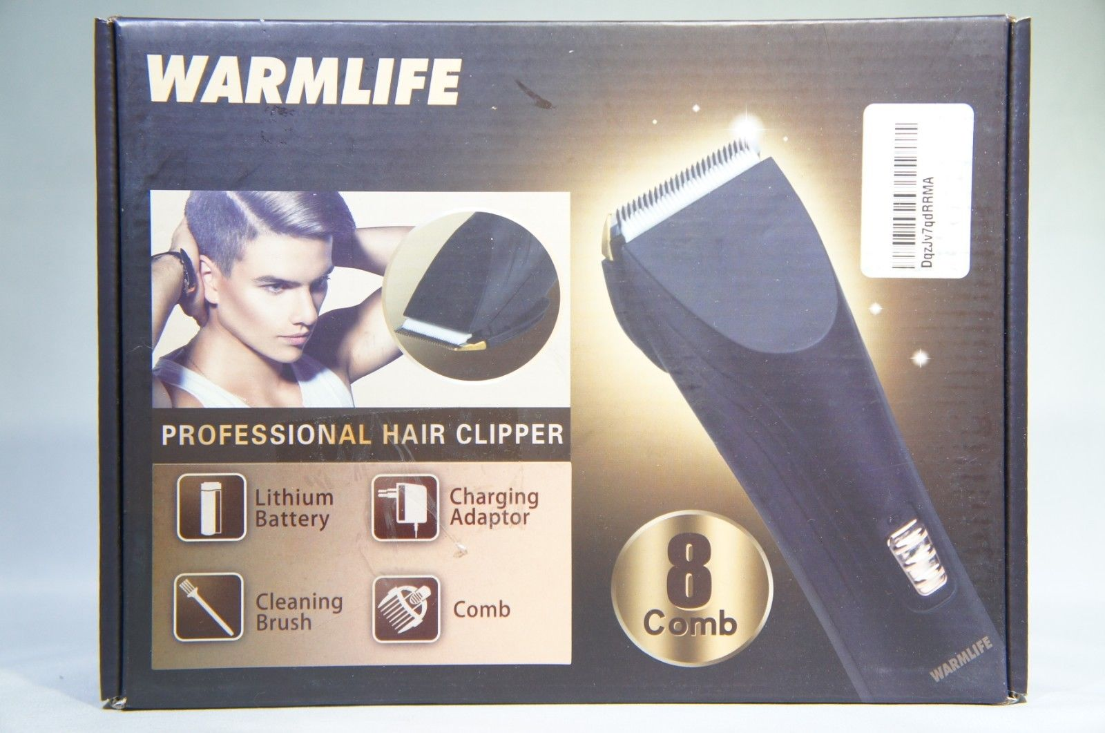 Warmlife Cord/Cordless Hair Clippers Electric Hair Trimmers for Men Kids