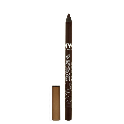 N.Y.C. New York Color Proof 24 Hr WP Eyeliner, Dark Brown, 0.042 Ounce