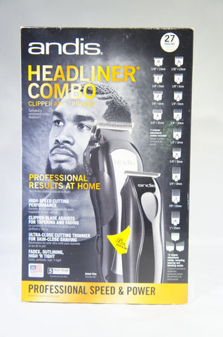 Andis Headstyler/Headliner MBO Kit, Black, 68120 (Like New)