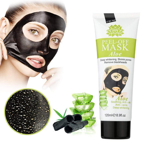 MEINAIER Blackhead Remover Mask, Peel Off Black Clear Pores & Acne 8.9 oz