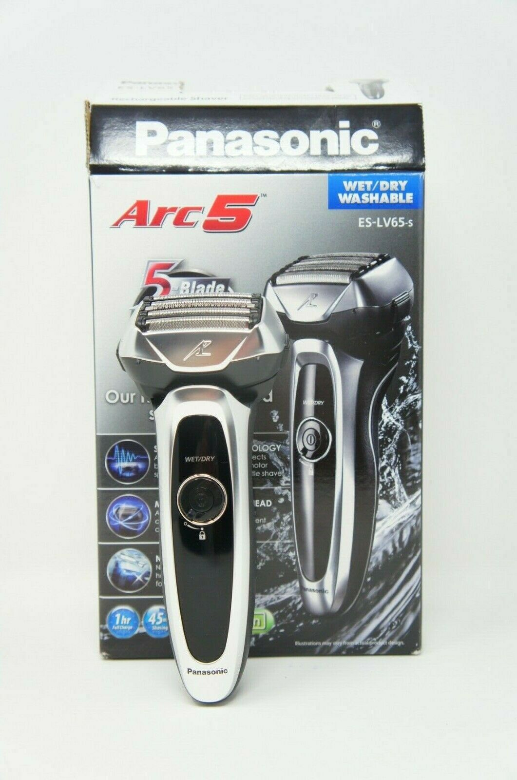Panasonic ES-LV65-S Electric Razor, Men's 5-Blade Cordless Wet/Dry (Like New)