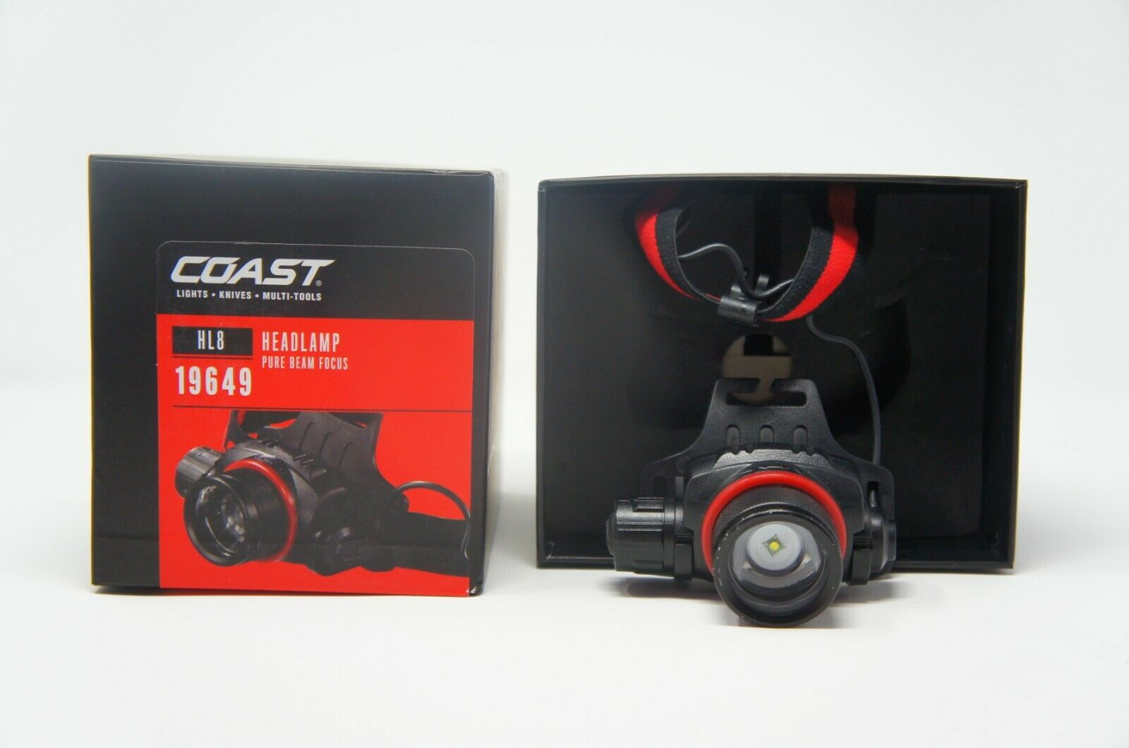 Coast 19649 HL8 LED Headlamp 344 Lumen (Like New)