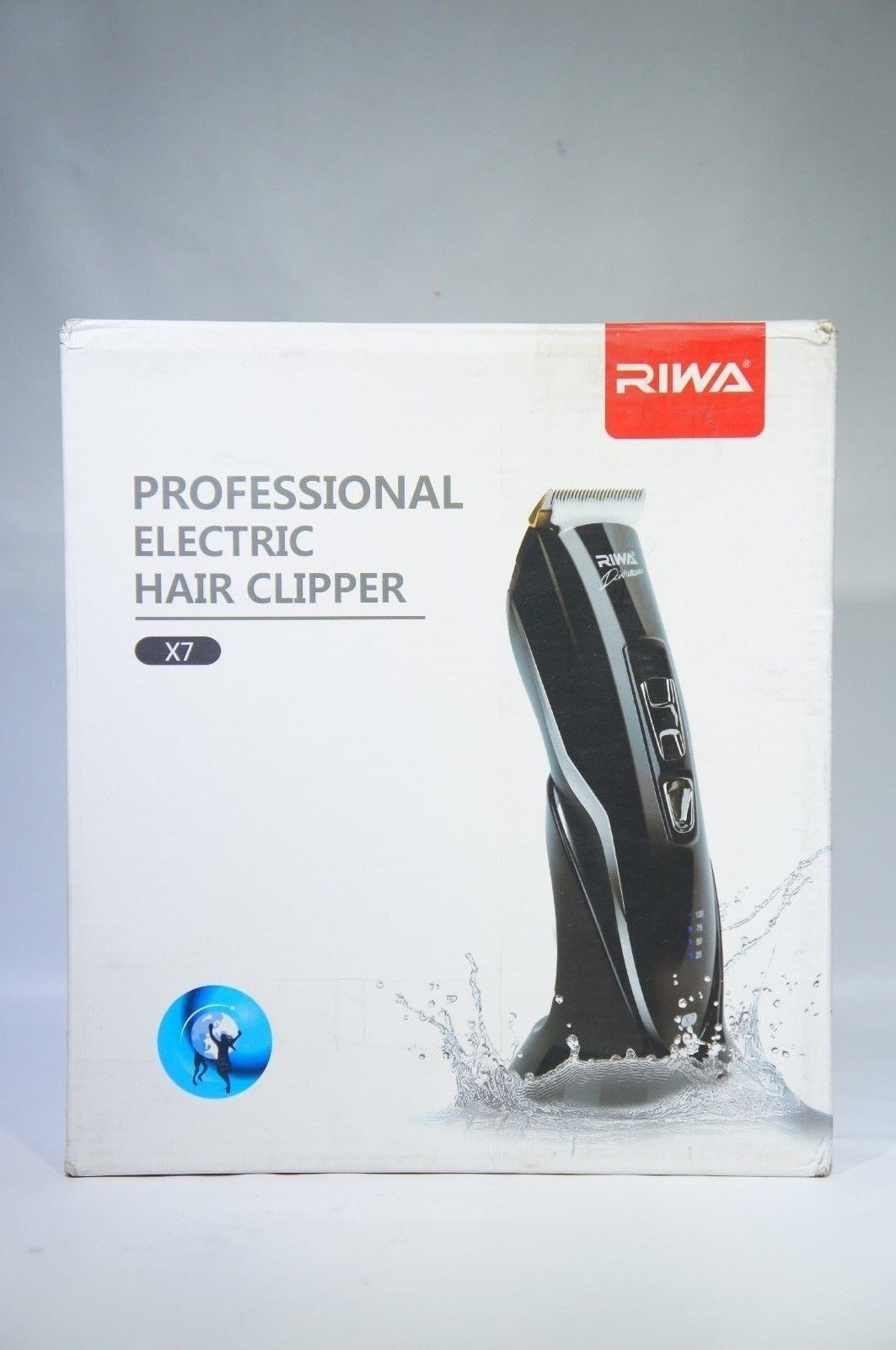 Riwa X7 Premium Cordless Charging Waterproof Hair/Beard Trimmer