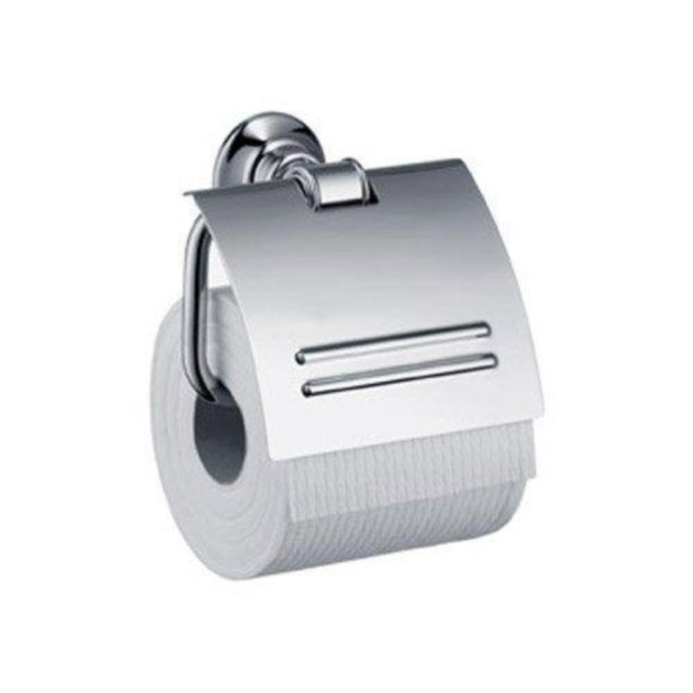 Hansgrohe 42036830 Axor Montreux Toilet Paper Holder, Polished Nickel (Like New)