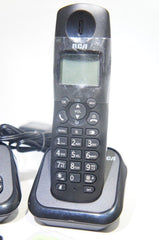 RCA 2162-2BKGA Element Series DECT 6.0 Cordless Phone with Caller ID & Digital Answering System (2-Handset System) (Like New)
