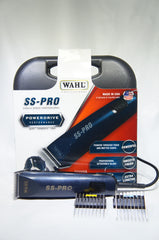 WAHL 9777 SS Pro Clipper Kit Powerdrive Performance (Like New)