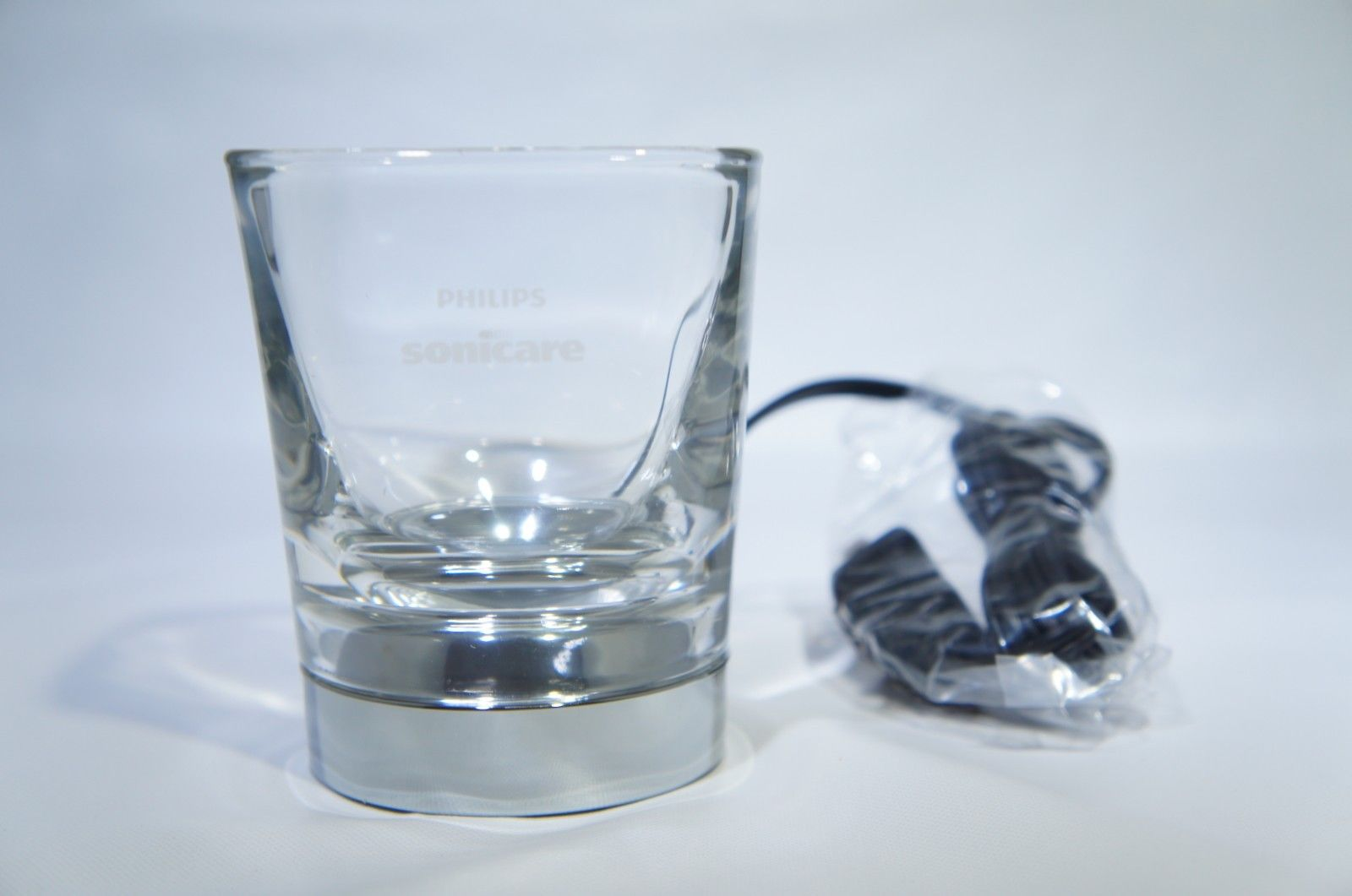 Charging Glass w/ Charging Base GENUINE for Philips Sonicare HX9352/10 BLACK