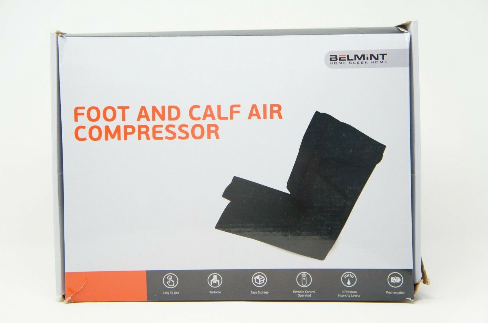 Belmint Leg Air Compression Massager for Foot Calf Circulationw/Controller