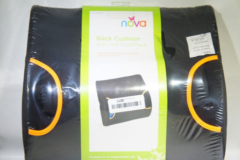 NOVA Medical Products Back Cushion with Hot and Cold Pack