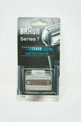Braun Series 7 70S Foil & Cutter Replacement Shaver Head 9000 Series (Like New)