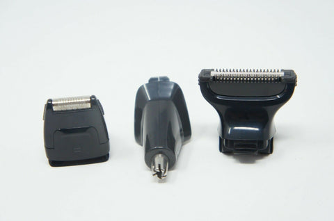 3 Heads Nose Precision Shaver Body Shaver for Philips Norelco MG7770/49