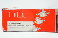 Tiella 800CBL5PN Accent Electronic Low Volt Surface Track (Like New)