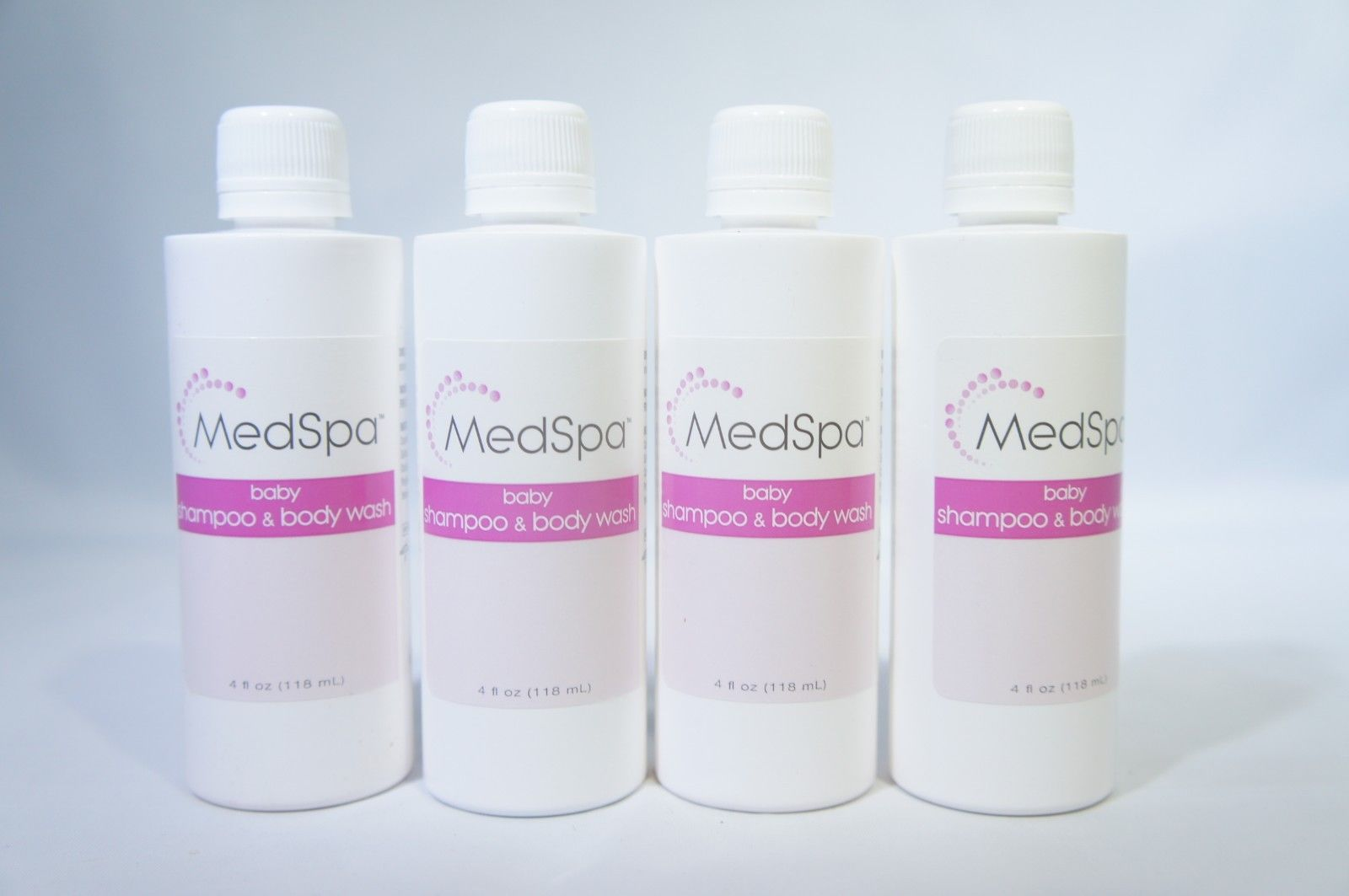 Medline MSC095020 MedSpa Baby Shampoo & Body Wash 4oz (4 Pack)