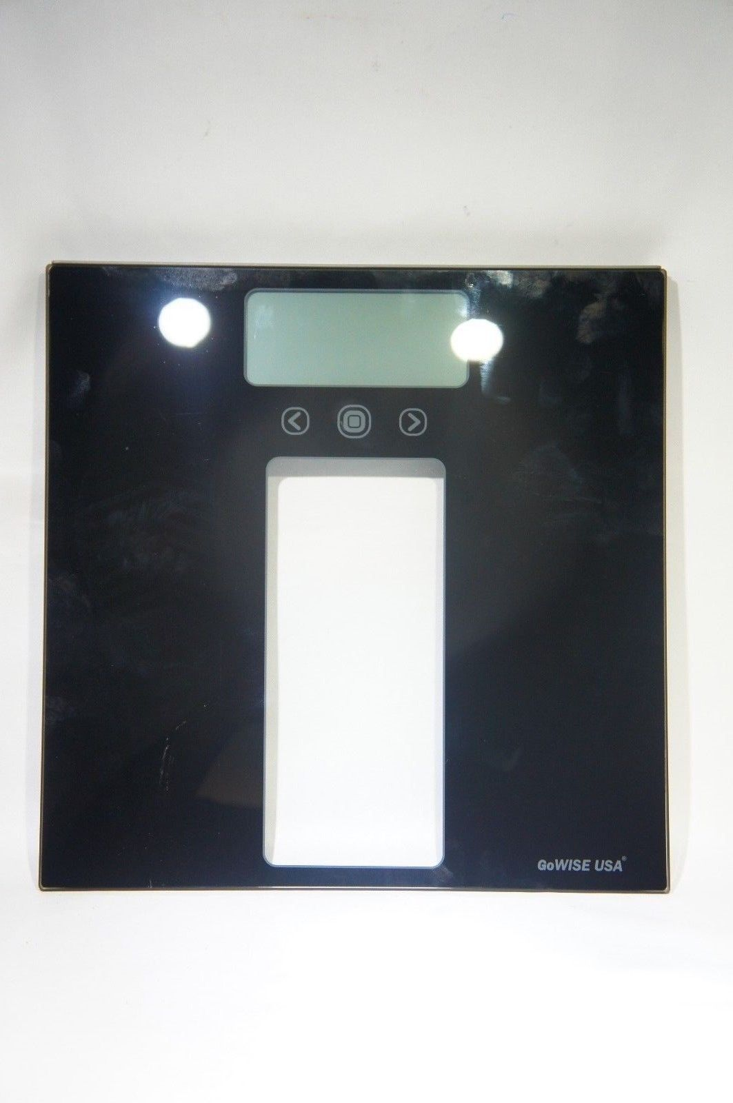 GoWISE GW22039 USA Body Mass Index Scale with Three Color LCD Indicator