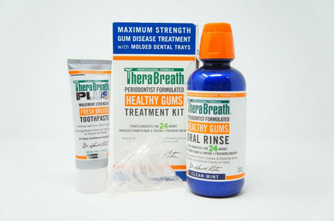 TheraBreath Kit PerioTherapy Dentist Formulated Gums Treatment Healthy