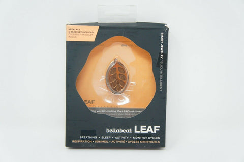 Bellabeat Leaf Nature Smart Jewelry Health Tracker (Like New)