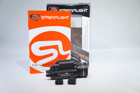 Streamlight 69260 TLR-1 HL Weapon Mount Tactical Flashlight Light 800 Lume (Like New)
