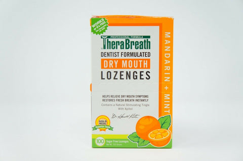 Thera Breath Lozenges Size 100ct Thera Breath Lozenges 100ct EXP: 6/2021