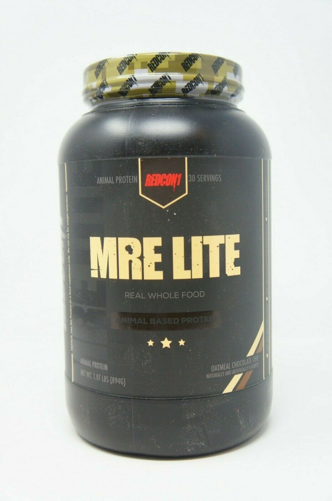 MRE Lite Real Whole Food Meal Replacement OATMEAL CHOCOLATE CHIP 30 SERVING