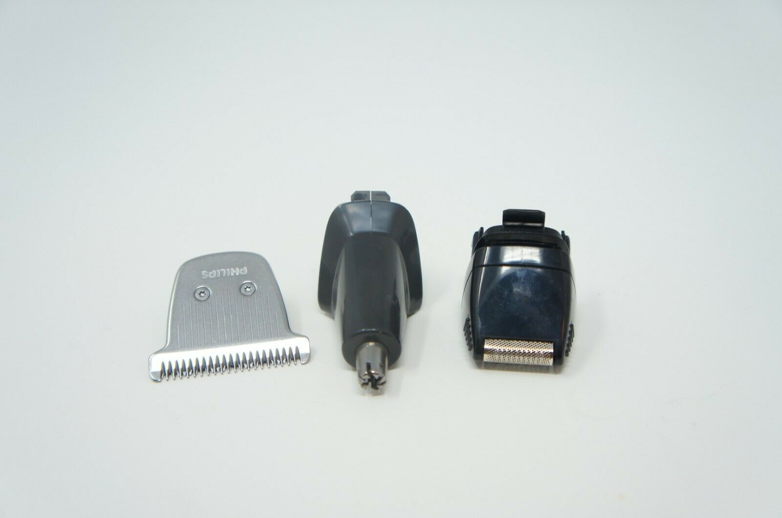 3 TRIMMERS EXTRA WIDE NOSE PRECISION SHAVER Philips Norelco MG7750/49