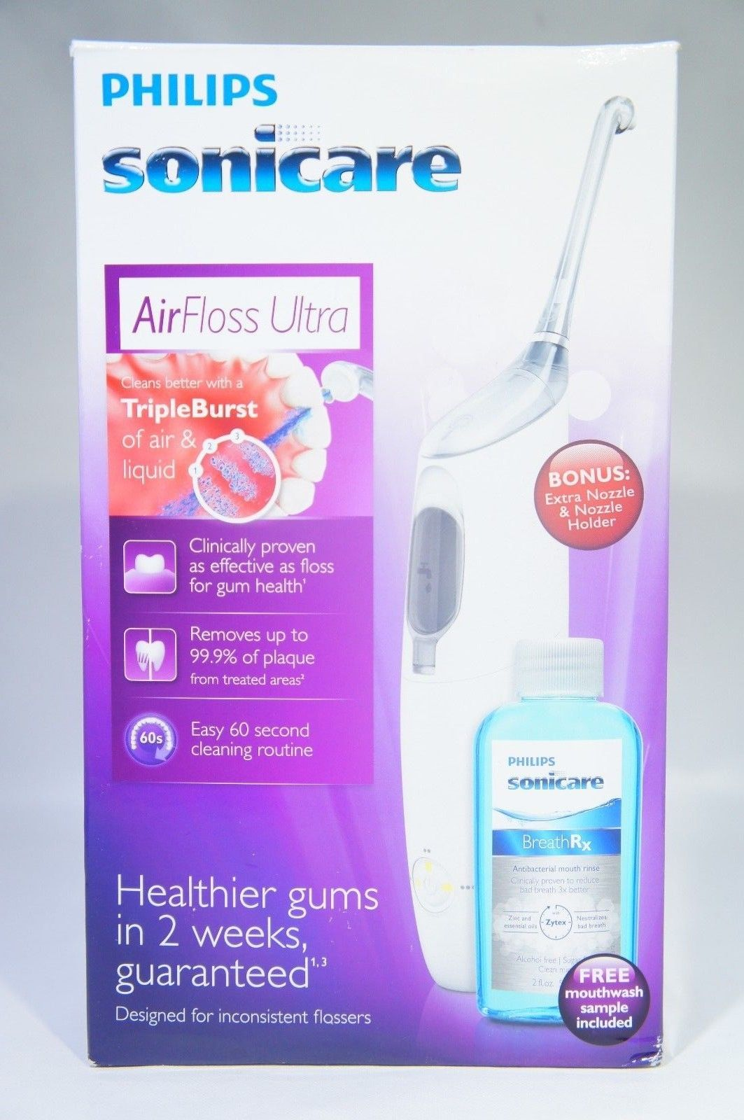 Philips Sonicare HX8332/11 Airfloss, Ultra Pink (Like New)