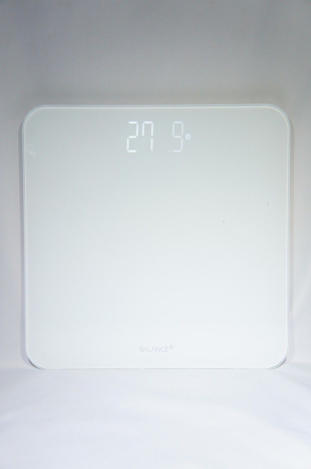 Digital Body Weight Bathroom Scale from GreaterGoods (White) Body Scale with Digital Weight, Accurate Bathroom Scales (Like New)