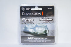 Remington SPR Titanium 360 PIVOT & FLEX Replacement Shaving Heads (Like New)