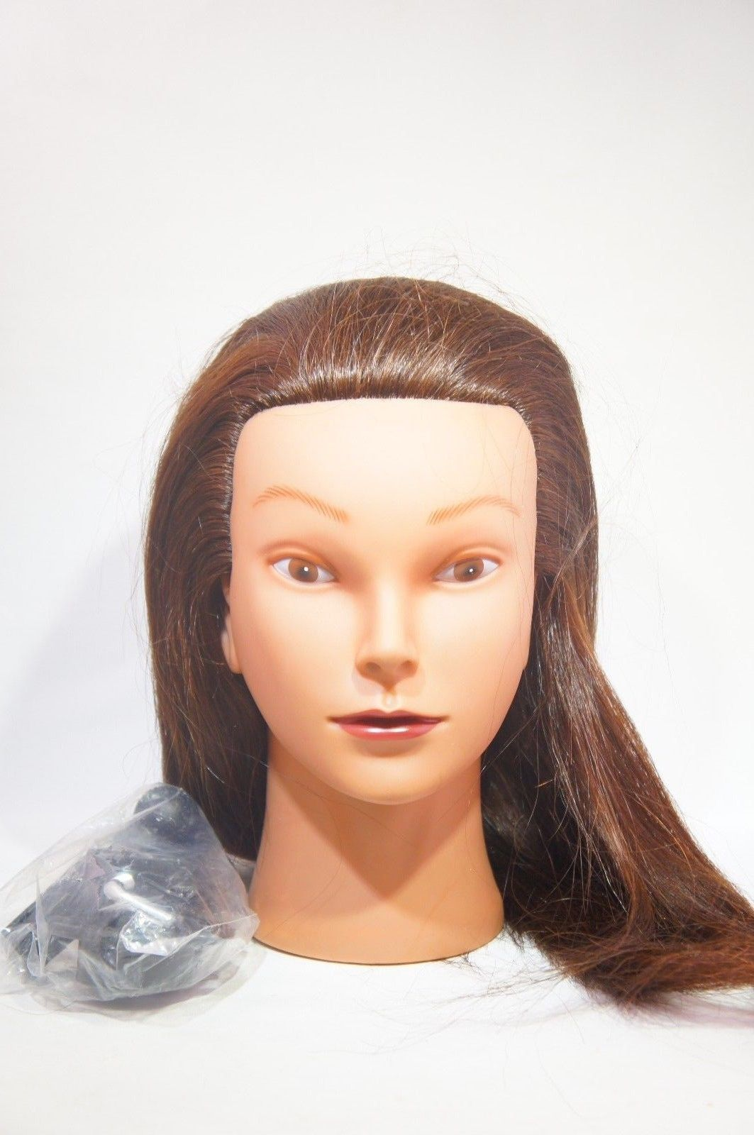 "HairZtar 22"" (ETHNIC) 100% Human Hair Mannequin Head Hairdresser"