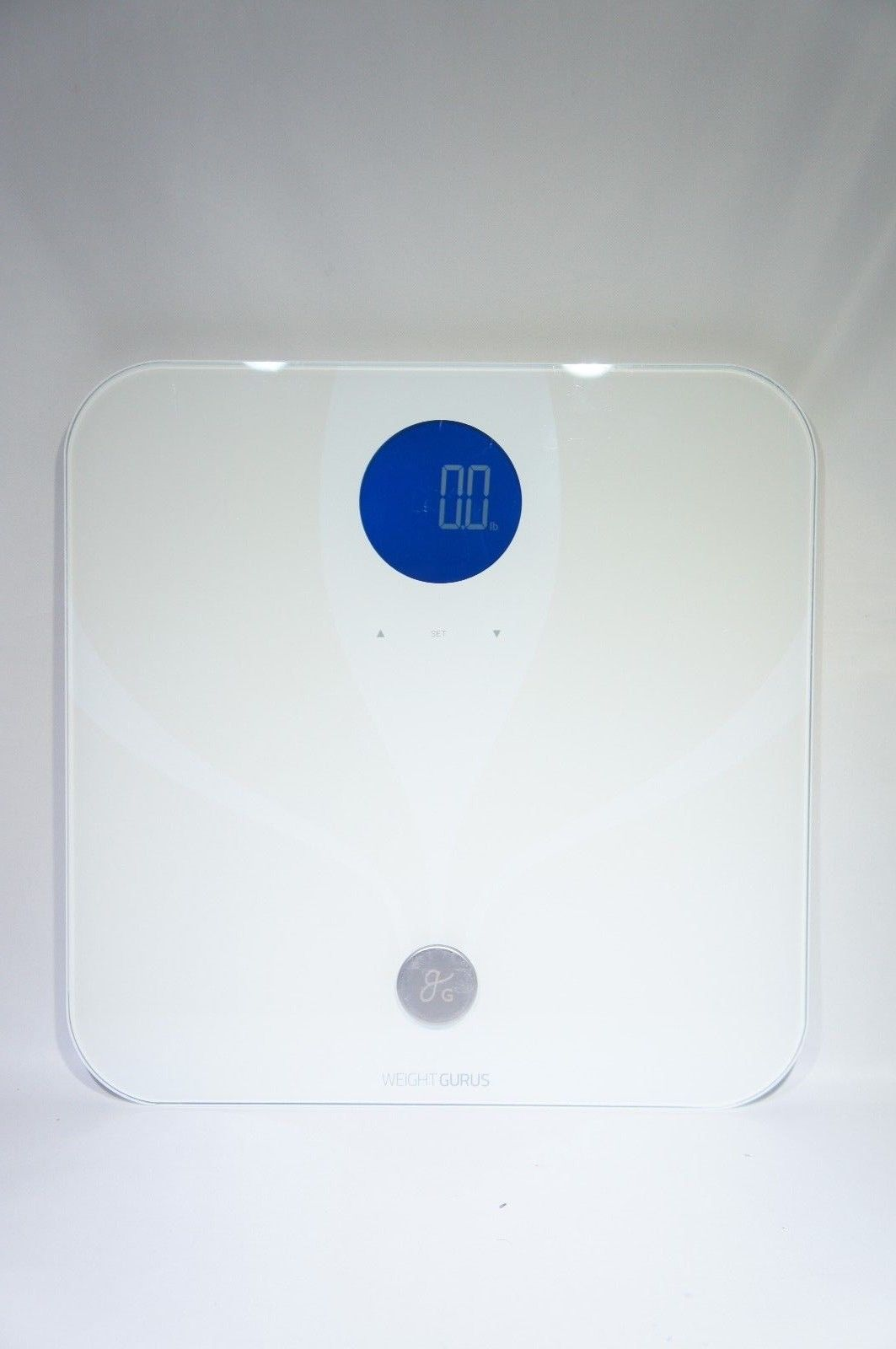 Weight Gurus WiFi Smart Connected Body Fat Scale White (LIKE NEW)