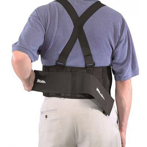 Mueller 252 Adjustable Lower Back Brace Support Pain Relief