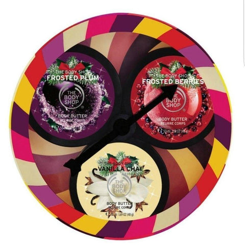 The Body Shop Limited Edition Seasonal Body Butters 3 pcs