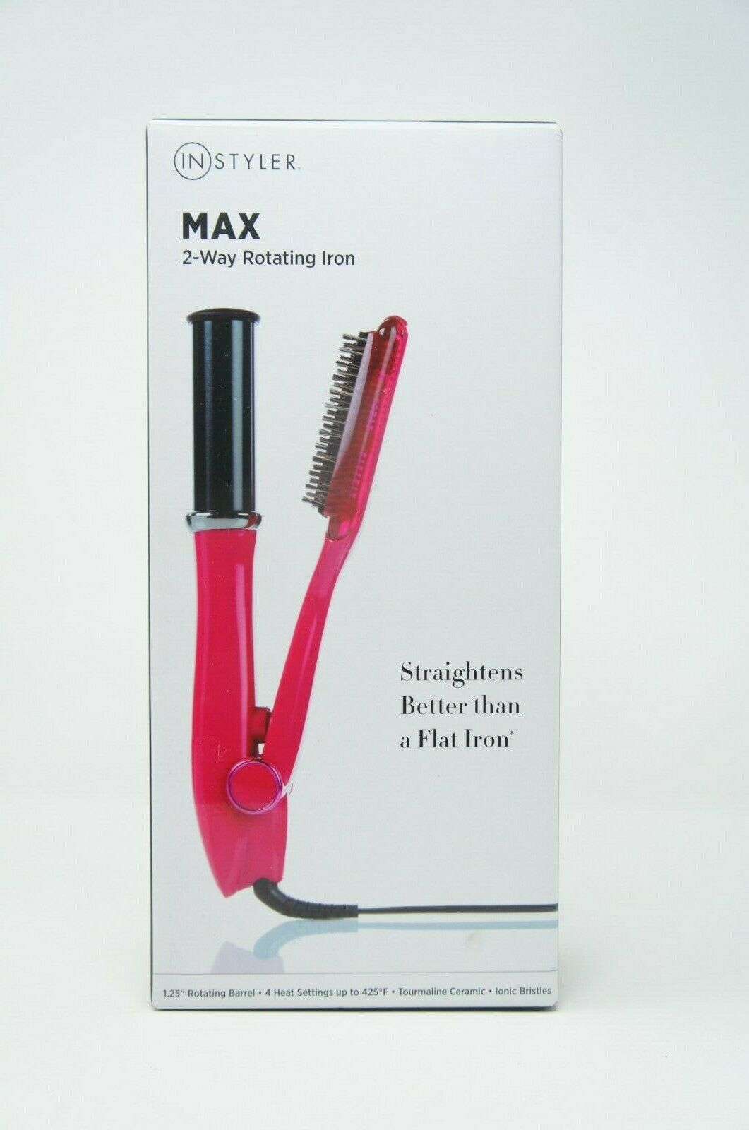 INStyler MAX 1.25 2-way rotating tourmaline ceramic straightener and styler