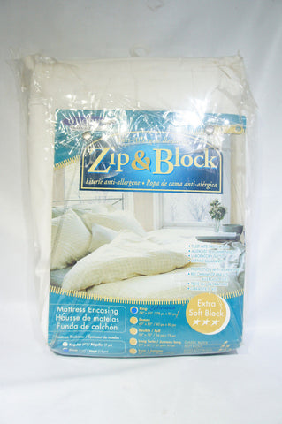 Zip & Block Allergy Blocking Mattress Encasement California King