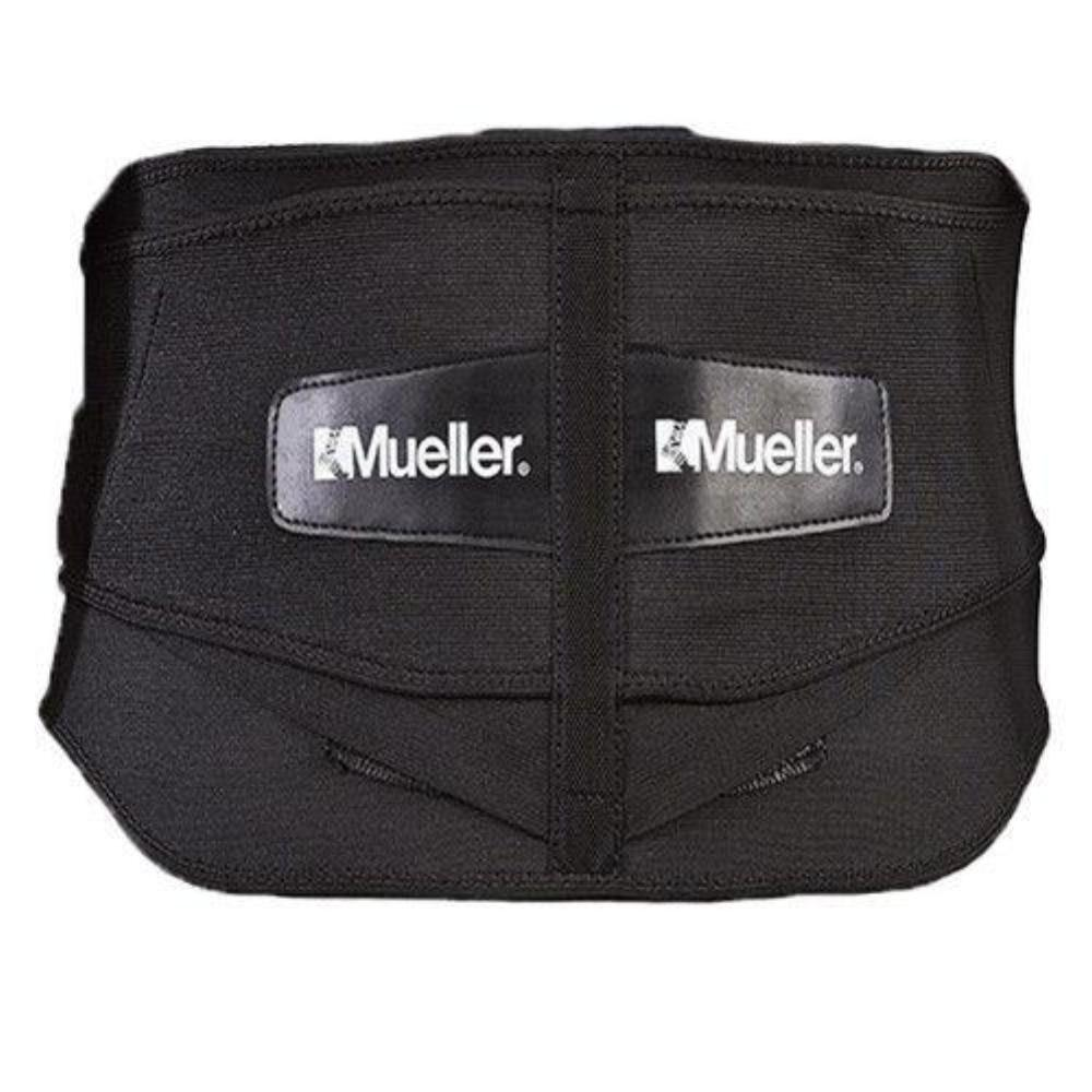 Mueller 64179 Lumbar Back Brace W Removable Pad Black Plus Size