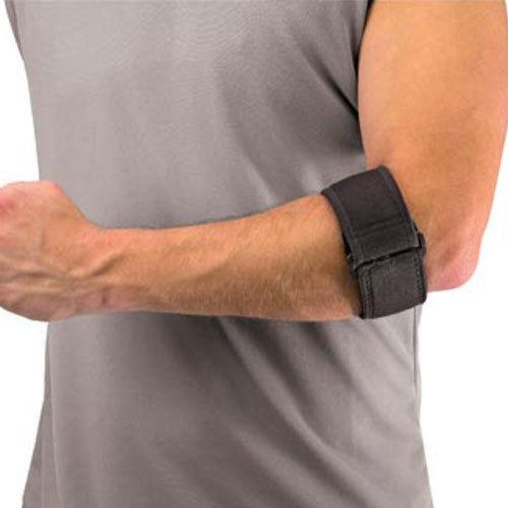 Mueller 6341 Tennis Elbow Forearm Brace Support w/ Gel Pad