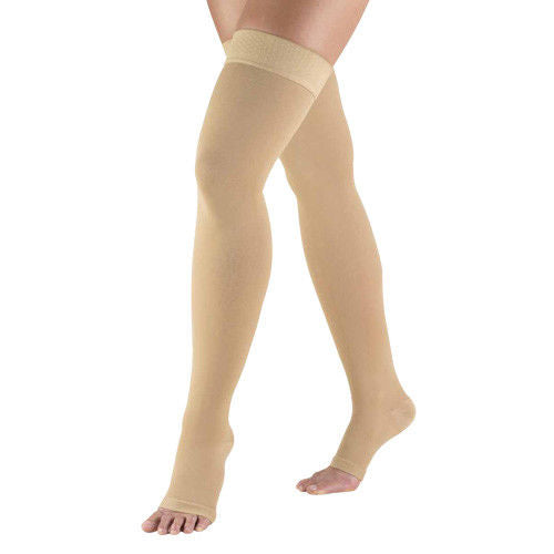 Truform 0868 Anti-Embolism 20-30 Mmhg Compression Thigh High Stockings