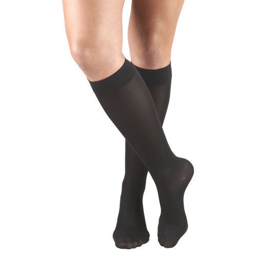 Truform 0363 Opaque Knee High 20-30 Mmhg Compression Stockings