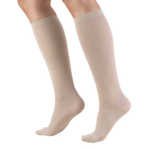 Truform 1976 Women's Knee High 10-20 mmhg Trouser Compression Socks