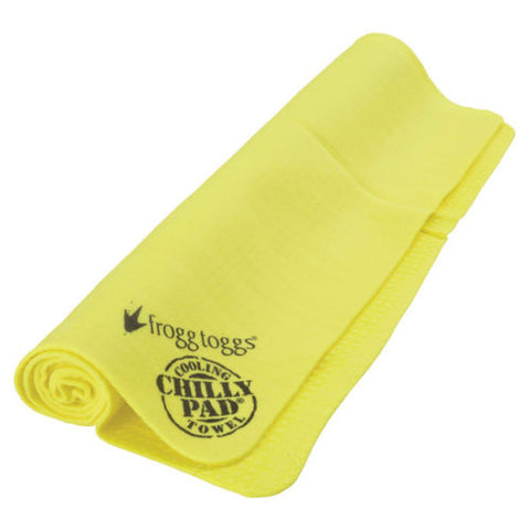 Authentic Froog Toggs Chiily Pad Sport Cooling Evaporative Snap Towel CP100