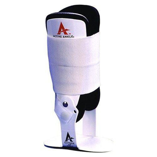 Active Ankle T1 Black Hinged Support Brace Guard
