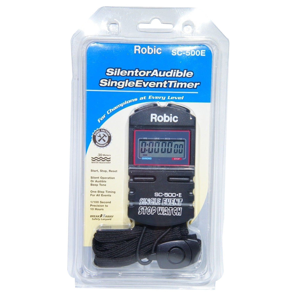 Robic SC-500E Simple Single Event Athletics Activities Start & Stop Stopwatch