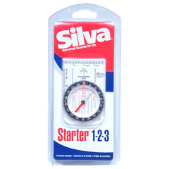 Silva Starter 1-2-3 Compass Boy Scout Hunting Survival w/ Rotating Capsule