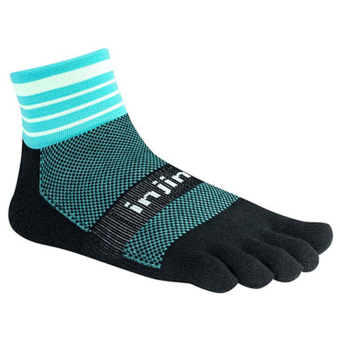 Injinji Trail Midweight Mini-Crew Toe Socks 213130