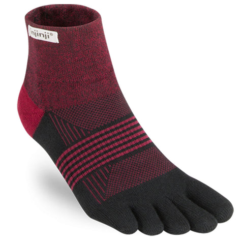 Injinji Women's Trail Midweight Mini-Crew Socks