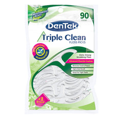 DenTek Triple Clean Floss Picks, Mouthwash Blast